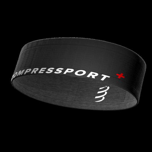 Compressport Free Belt fekete-szürke sportöv, futóöv XS/S