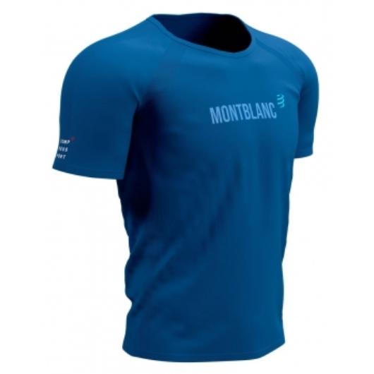 Compressport Training T-shirt férfi futópóló - Mont Blanc 2021