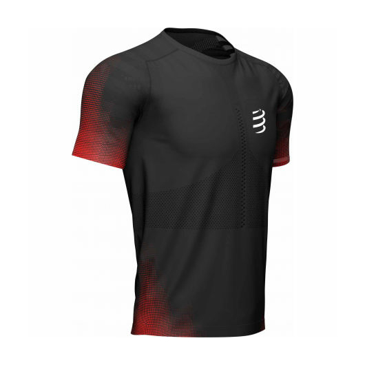 Compressport Racing T-shirt férfi futópóló