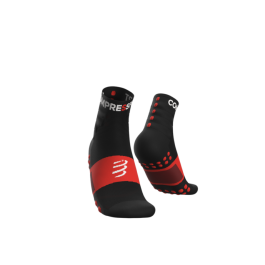 Compressport Training fekete sportzokni csomag (2-pár) T1