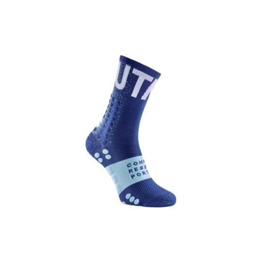 Compressport Pro Racing Socks V3.0 Ultra Trail UTMB 2020 limitált kiadású terepfutó zokni T1