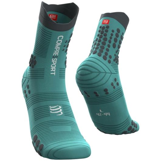 Compressport Pro Racing Socks v3.0 Trail kék terepfutó zokni T1