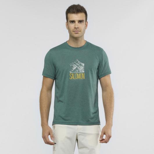 Salomon Explore Graphic SS TEE M férfi póló