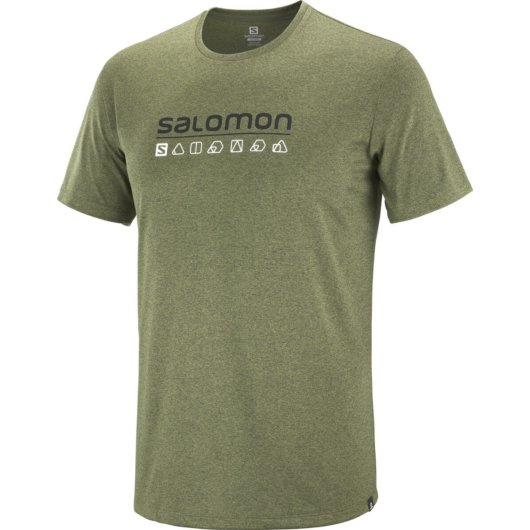 Salomon Agile Graphic Tee M férfi póló