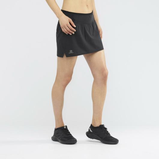Salomon Sense SKORT W női futószoknya - fekete