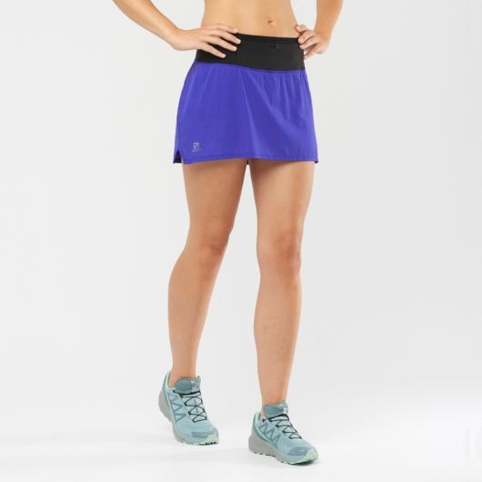 Salomon Sense SKORT W női futószoknya - kék