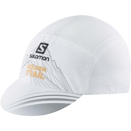 Salomon AIR LOGO CAP, golden trail arany futósapka