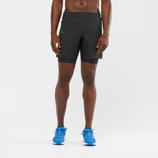 Salomon XA Twinskin short, férfi futónadrág