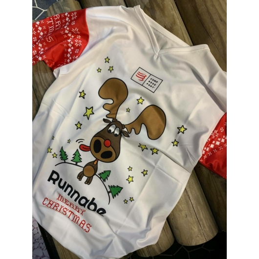 Compressport X Runnabe Limited Edition Training T-Shirt női futópóló