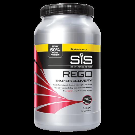 SiS Rego Gyors beépülésű fehérjepor, 1600 gr - banán