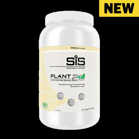 SiS Plant20 vegán fehérjepor, 900gr - Vanília