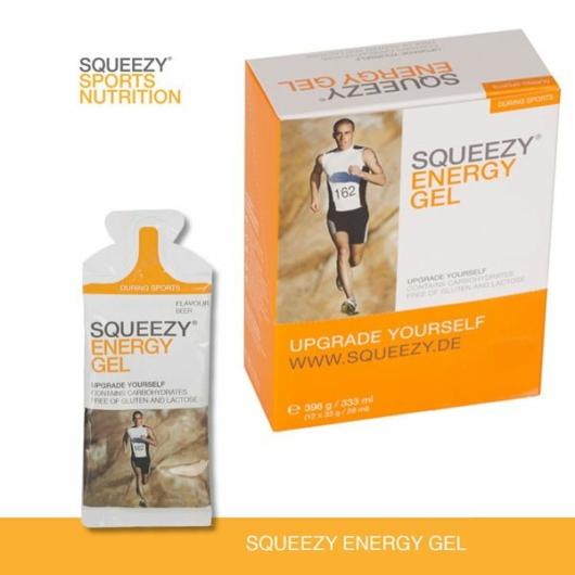 Squeezy Energy Gel 12x33g - Banán