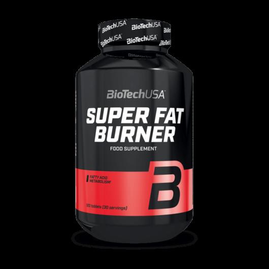 BioTechUSA Super Fat Burner 120 tabletta