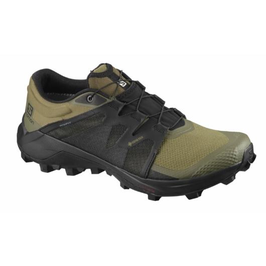 Salomon Wildcross GTX férfi terepfutó cipő - oliva zöld