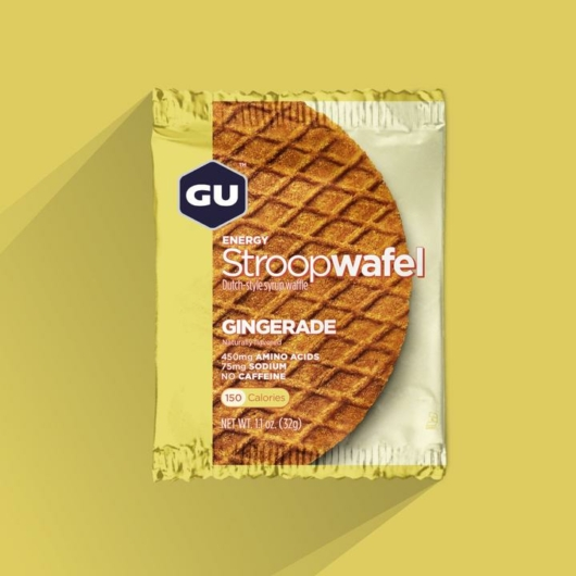Gu Energia Stroopwafle, 32 g - gyömbér