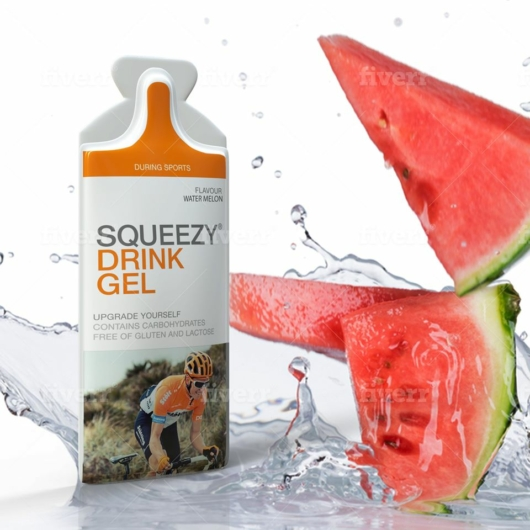 Squeezy Drink Gel - görögdinnye