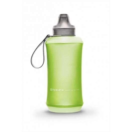 Hydrapak Crush Bottle kulacs futáshoz, 500 ml - zöld