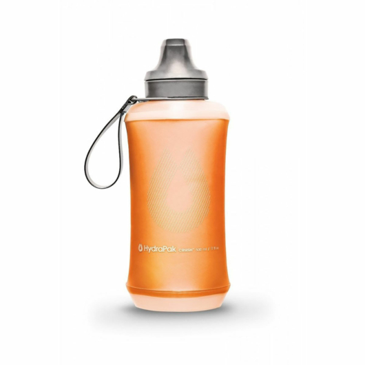 Hydrapak Crush Bottle kulacs futáshoz, 500 ml - naramcssárga