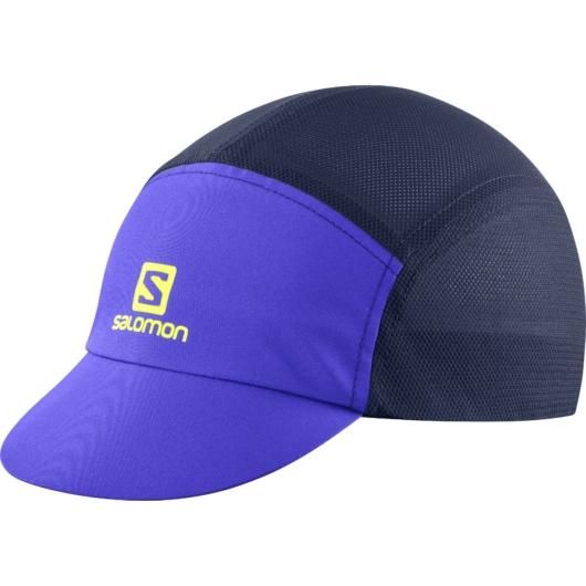 Salomon AIR LOGO CAP, sötétkék futósapka