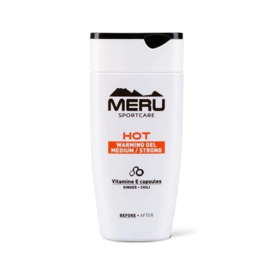 Meru Hot - BEMELEGÍTŐ KRÉM, SPORTKRÉM - ERŐS - 150ML
