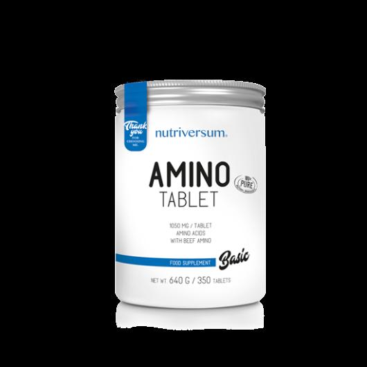 Nutriversum Amino Tablet BASIC, 350 tabletta - Ízesítetlen