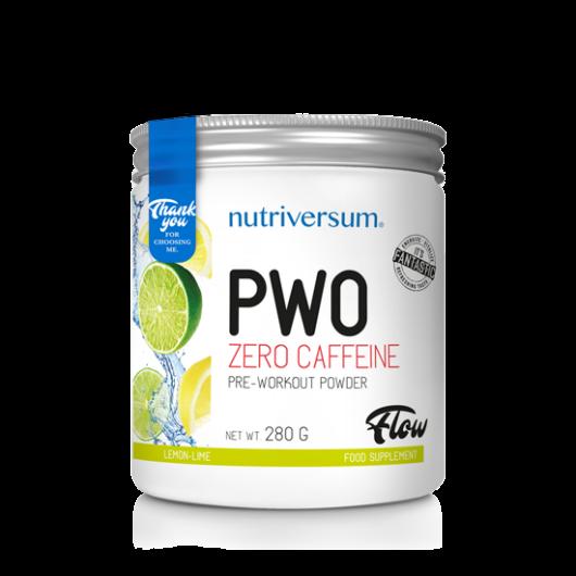Nutriversum PWO zero caffeine - 280g