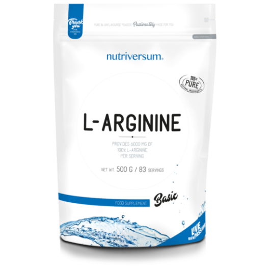 Nutriversum L-arginine - 500g