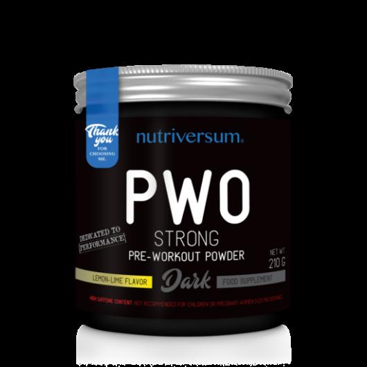 Nutriversum PWO Strong - 210g