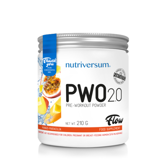 Nutriversum PWO 2.0 - 210g