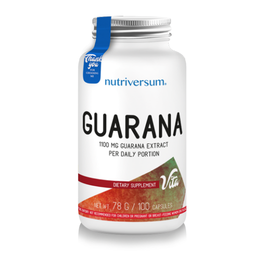 Nutriversum Guarana - 100 kapszula