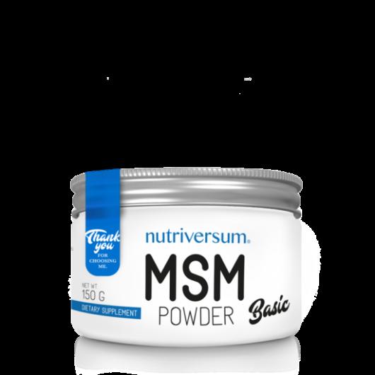 Nutriversum MSM Powder - 150 g