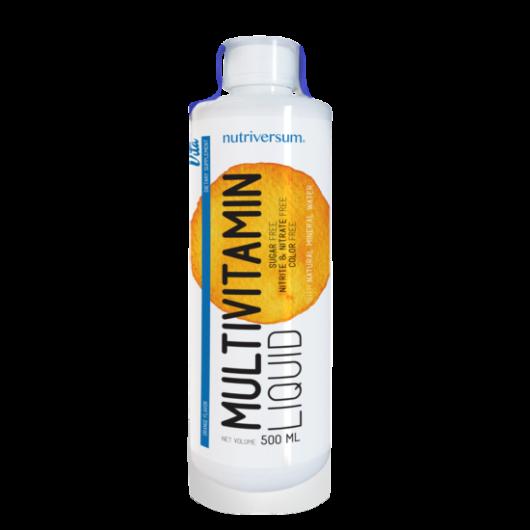 Nutriversum Multivitamin Liquid - 500 ml - narancs