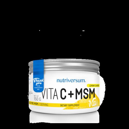 Nutriversum C+MSM - 150 g - citrom