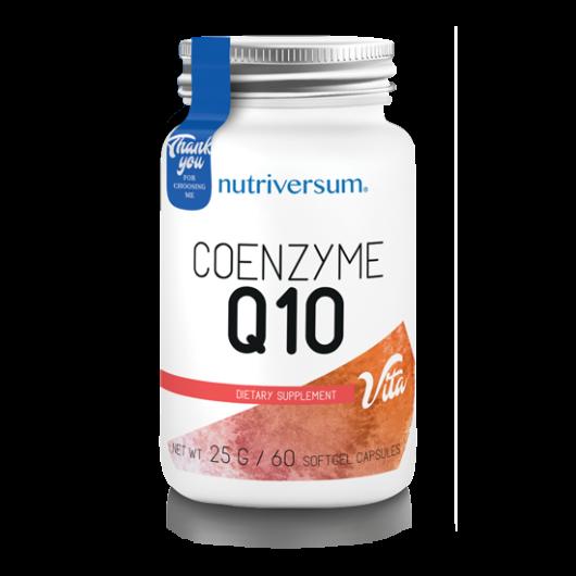 Nutriversum Coenzyme Q10 - 60 kapszula