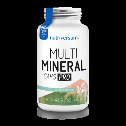 Nutriversum Multimineral Caps Pro - 60 kapszula