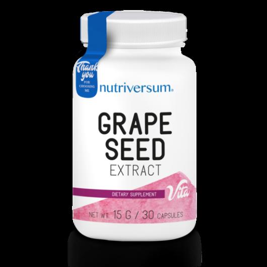 Nutriversum Grape Seed - 30 kapszula