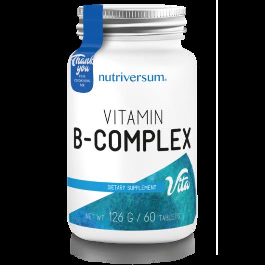 Nutriversum B-Complex - 60 tabletta