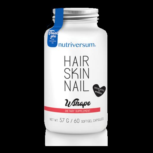 Nutriversum WSHAPE Hair Skin Nail - 60 kapszula
