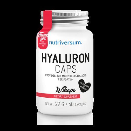 Nutriversum WSHAPE Hyaluron - 60 kapszula