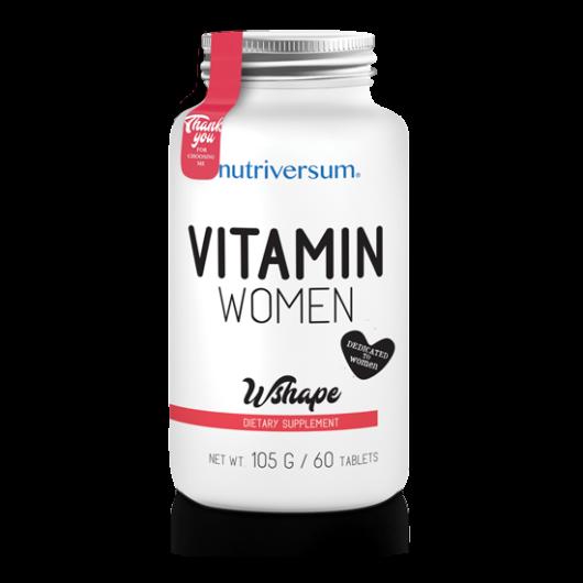 Nutriversum WSHAPE Vitamin Women - 60 tabletta