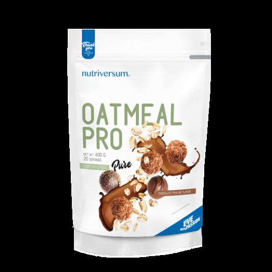Nutriversum Oatmeal PRO PURE, 600 g - Csokoládé praliné