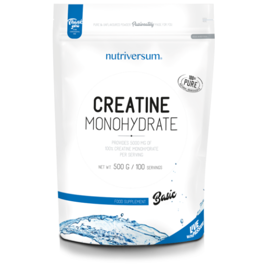 Nutriversum Creatine Monohydrate - 500g