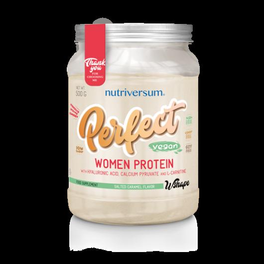 Nutriversum WSHAPE Perfect Woman Protein, 500 g - sós karamell