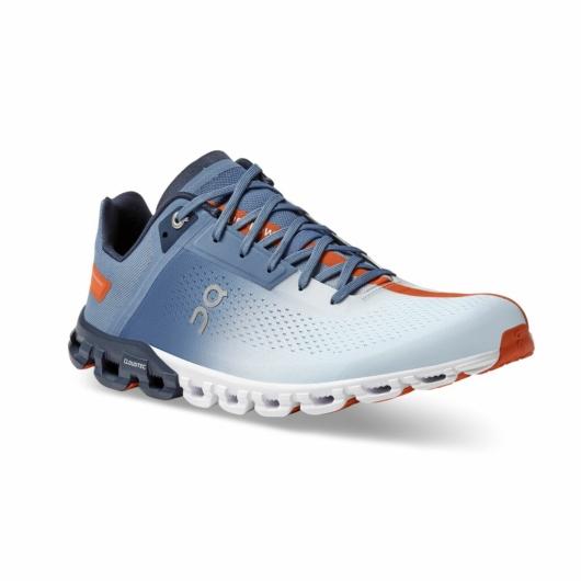 On Cloudflow kék/szürke férfi futócipő