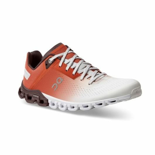 On Cloudflow narancssárga női futócipő