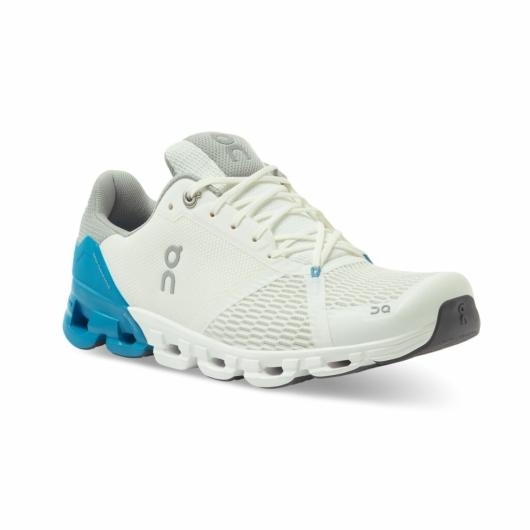 TESZT On Cloudflyer fehér/kék férfi futócipő