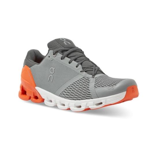 TESZT On Cloudflyer szürke/narancssárga férfi futócipő
