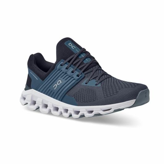 On Cloudswift férfi futócipő - kék