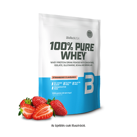 BioTechUSA 100% PURE WHEY Protein, 454 g - epres