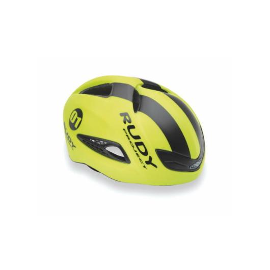 Rudy Project BOOST 01 kerékpáros sisak, citromsárga - S/M (54-58)